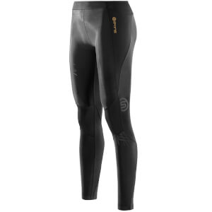 Skins A400 Women's Starlight Long Compression Tights - Black