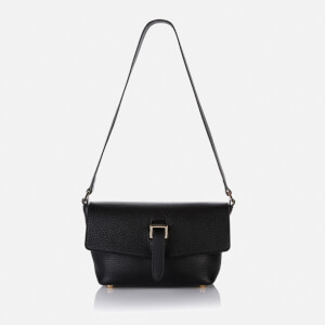 meli melo Maisie Micro Calf Cross Body Bag - Black