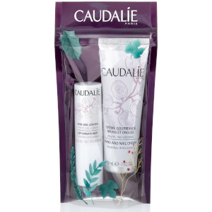 Caudalie Duo - Lip Conditioner and Hand Cream Set
