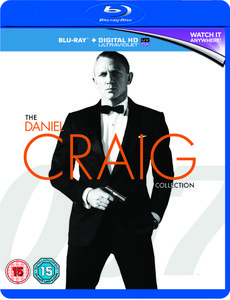 Daniel Craig 007 Triple Pack - Casino Royale / Quantum of Solace / Skyfall (Includes HD UltraViolet Copy)
