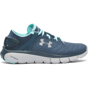 Under Armour Women's Speedform Fortis Running Shoes - Blue/Silver