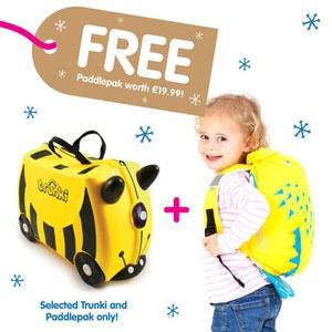 Trunki Bernard Suitcase with Free Spike PaddlePak