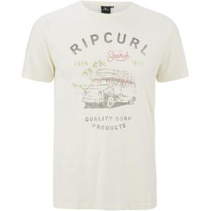 Rip Curl Men's Born in 1969 T-Shirt - Breakage White