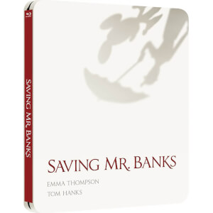 Saving Mr Banks (Edición de Reino Unido) - Steelbook Exclusivo de Edición Limitada