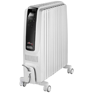 De'Longhi Dragon 4 TRD41025E 2.5KW Oil-Filled Radiator with Digital Timer