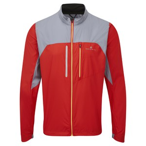 RonHill Men's Advance Windlite Jacket - Red/Granite