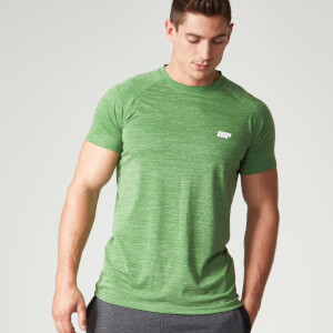 Myprotein Performance Männer Kurzarm-Top - Green Marl