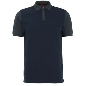 Luke 1977 Men's Terry The Doorman Polo Shirt - Navy