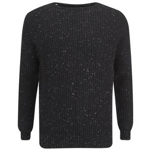 Selected Homme Men's Neps Crew Neck Sweatshirt - Black