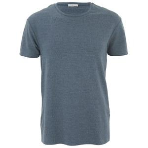 Selected Homme Men's Piers T-Shirt - Medium Blue Melange