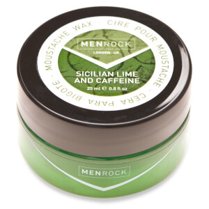 Men Rock Awakening Moustache Wax - Sicilian Lime and Caffeine