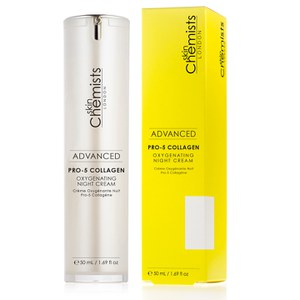 skinChemists Advanced Pro-5 Collagen Oxygenating Night Cream (50ml)