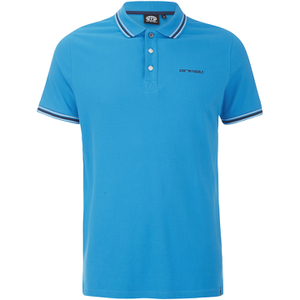 Animal Men's Pique Polo Shirt - Kingfisher Blue