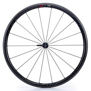 Zipp 202 Firecrest Carbon Clincher Rear Wheel - Black Decal