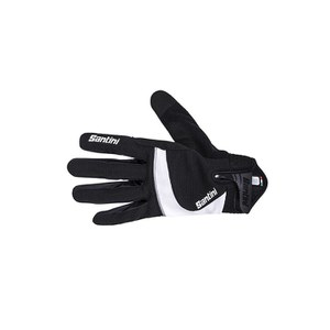 Santini Studio Mid Season Gloves - Black