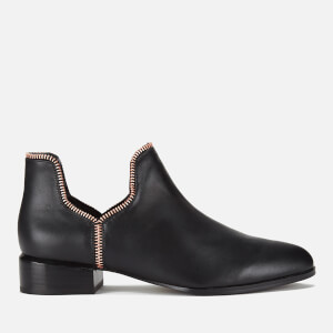 Senso Women's Bailey VIII Leather Ankle Boots - Ebony