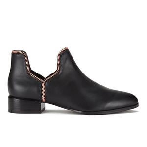 Senso Women's Bailey VIII Leather Ankle Boots - Ebony