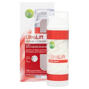 Garnier Skin Naturals UltraLift Serum + Cream (50ml)