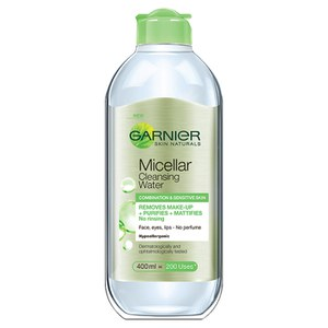 Garnier Skin Naturals Micellar Cleansing Water Combination and Sensitive Skin (400 ml)