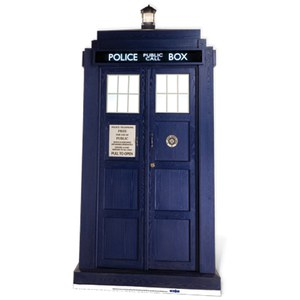Doctor Who The Tardis Kartonnen Figuur
