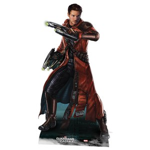 Marvel Guardians of the Galaxy Star-Lord Kartonnen Figuur