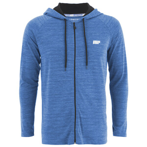 Myprotein Men's Performance Zip Hoodie - Blue Marl (USA)