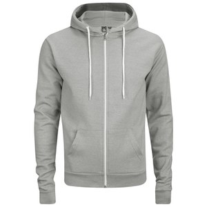 Sweat à Capuche Homme et zip Soul Star Berkley - Gris Chiné