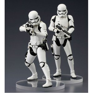 Star Wars Episode VII pack 2 statuettes PVC ARTFX+ First Order Stormtrooper
