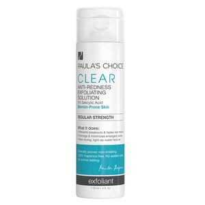 Paula's Choice Clear Regular Strength Anti-Redness Exfoliating Solution with 2% Salicylic Acid (118ml)