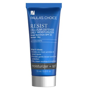 Paula's Choice Resist Cellular Defense Daily Moisturizer SPF 25 - Trial Size (15ml)