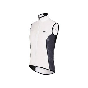 Santini Ice 2 Gilet - Transparent/Black