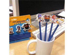 Sonic the hedgehog Pencil Topper Erasers