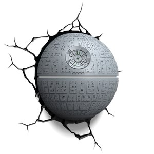 Star Wars Death Star 3D Light