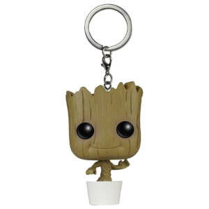 Marvel Guardians Of The Galaxy Baby Groot Pocket Funko Pop! Keychain