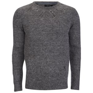Religion Men's Bravery Wool Knitted Jumper - Grey
