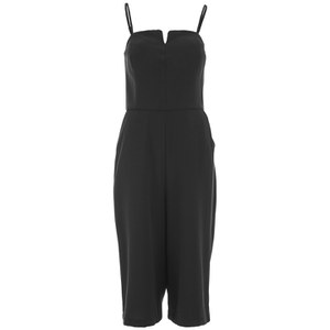 ONLY Women's Milika Cullote Jumpsuit - Black