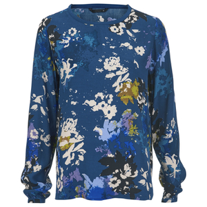 ONLY Women's Annabelle Long Sleeve Top - Poseidon