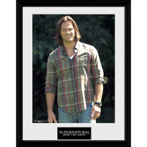 Supernatural Sam - 16 x 12 Inches Framed Photographic