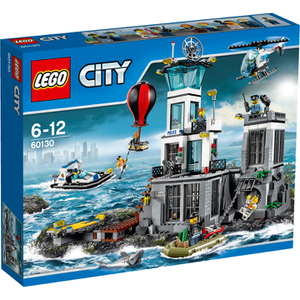 LEGO City: Polizeiquartier auf der Gefängnisinsel (60130)