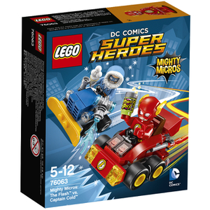 LEGO DC Comics Super Heroes: Mighty Micros: The Flash vs Captain Cold (76063)