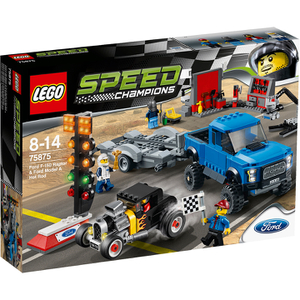 LEGO Speed Champions: Ford F-150 Raptor and Ford Model A Hot Rod (75875)