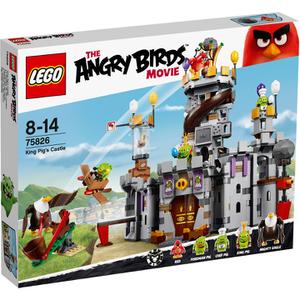 LEGO Angry Birds: Castillo del rey cerdo (75826)