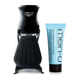 men-ü Pro Black Shaving Brush pędzel do golenia – czarny