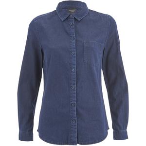 Selected Femme Women's Selma Denim Shirt - Dark Blue Denim