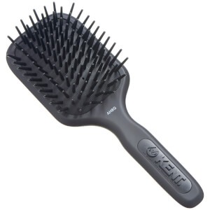Kent AH8G AirHeadz Medium Fat Pin Cushioned Hair Brush - Black