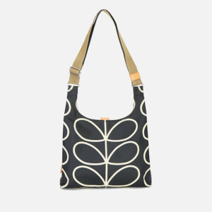 Orla Kiely Women's Stem Midi Sling Bag - Black