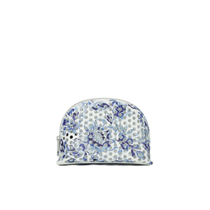 Loeffler Randall Women's Large Perforated Cosmetic Bag - Porcelain Print