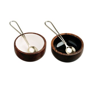 Just Slate Sheesham Wood Condiment Set