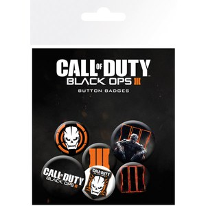 Lot de Badges Call Of Duty Black Ops 3 - Assortiment