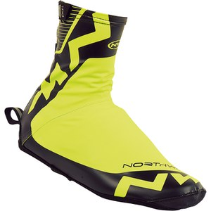 Northwave H20 Winter High Shoe Cover - Yellow/Black
